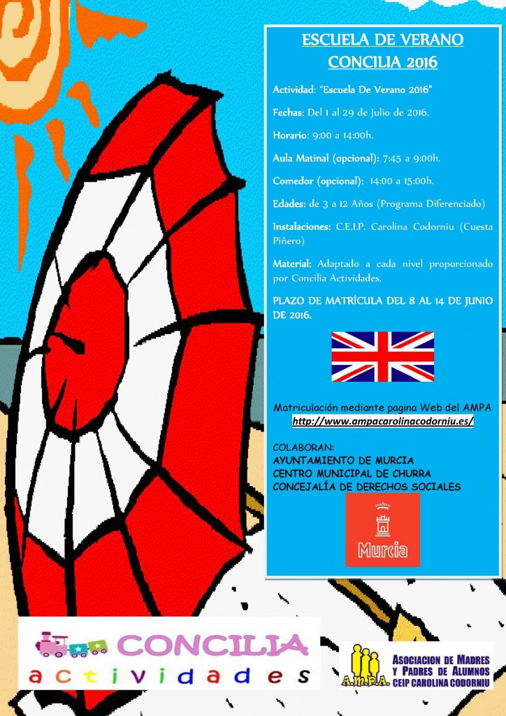 cartel verano 2016 churra